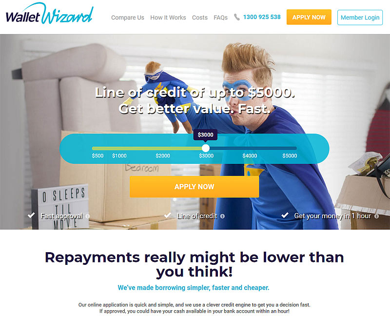 wallet wizzard review